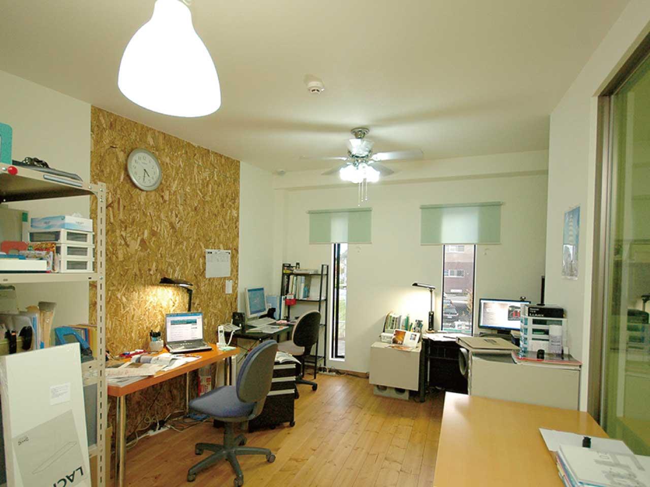 ライゼホビー(都市型賃貸ホビースペース)の土地活用の事例。オフィスや作業場としてのご利用が多いです。