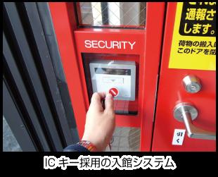 ライゼボックス(室内型トランクルーム)のセキュリティ